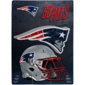 NFL New England Patriots  Throw Blanket